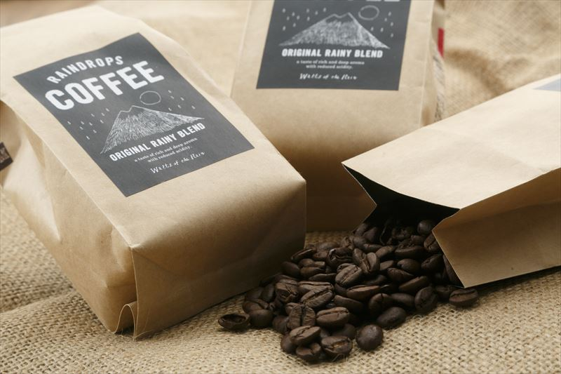 【Waltz of the Rain】Raindrops Coffee - Original Rainy Blend -
